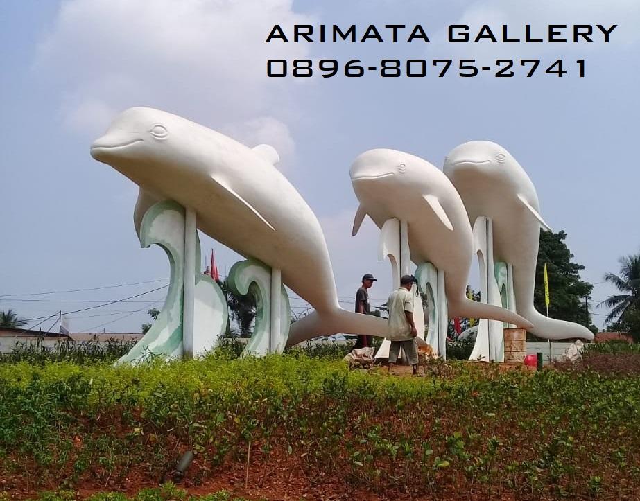 gambar harga patung lumba lumba