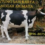 gambar patung sapi perah