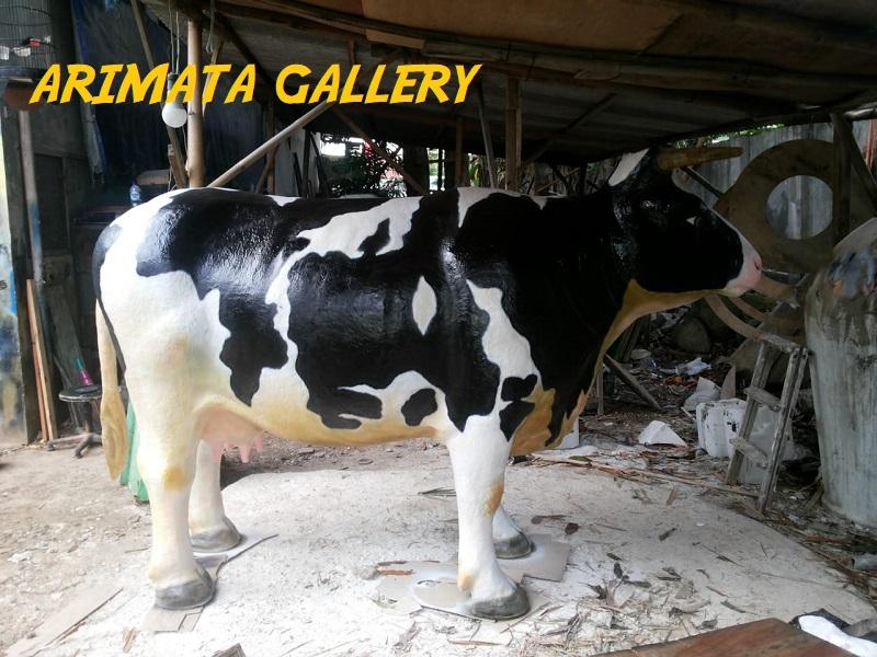 gambar harga jual patung sapi perah